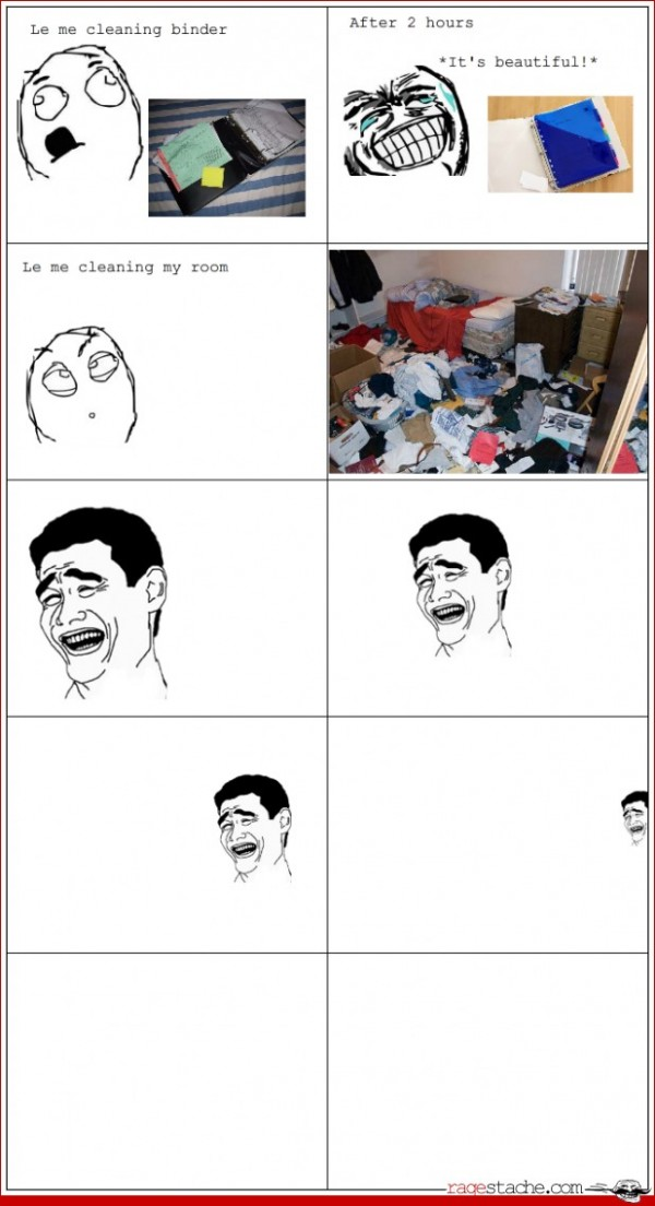 Le Me Cleaning My Room