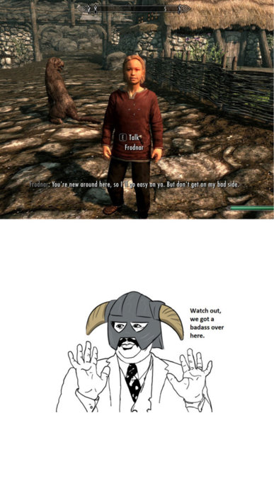 What do we have here skyrim